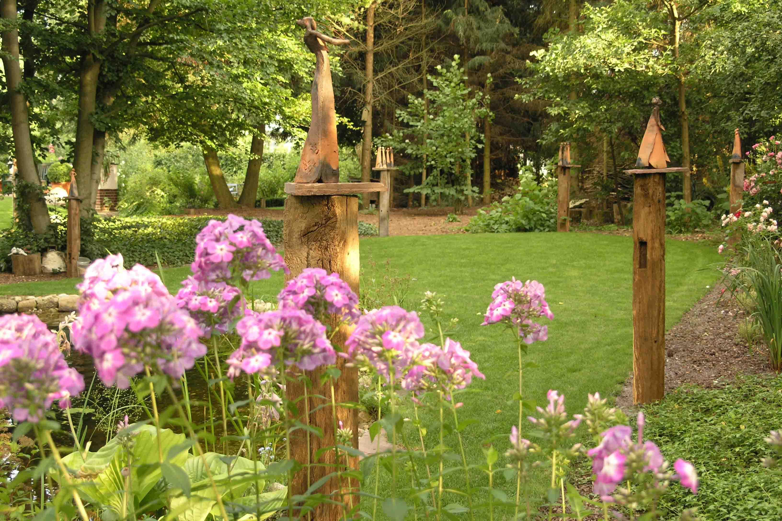 Garten und Skulpturen