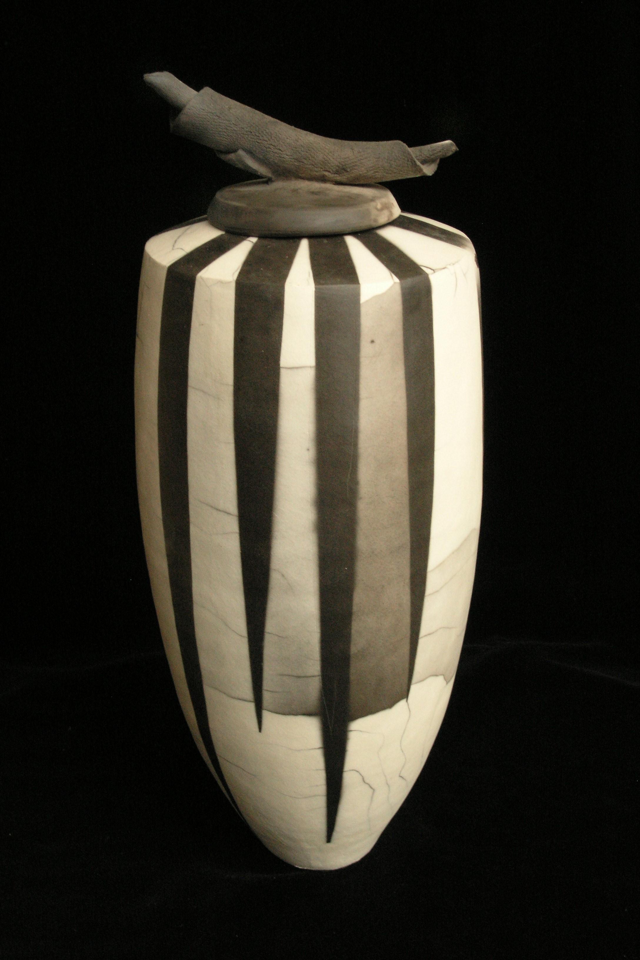 Vase, hoch