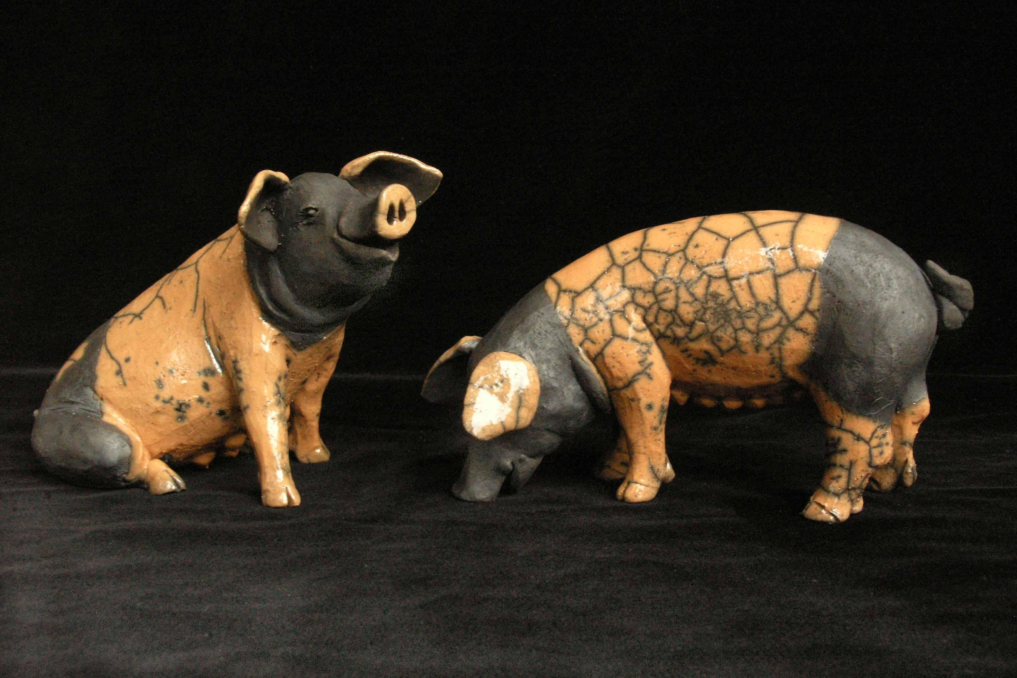 Raku Schweinchen
